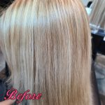 Gallery 103 - Before - Hair Extensions by Gricelda